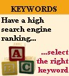Select the right keyword for your high search engine rankings